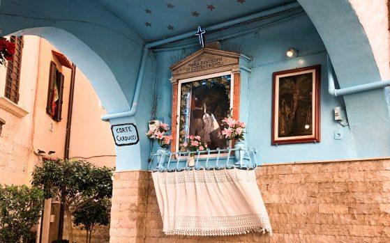 icona votiva centro storico Bari