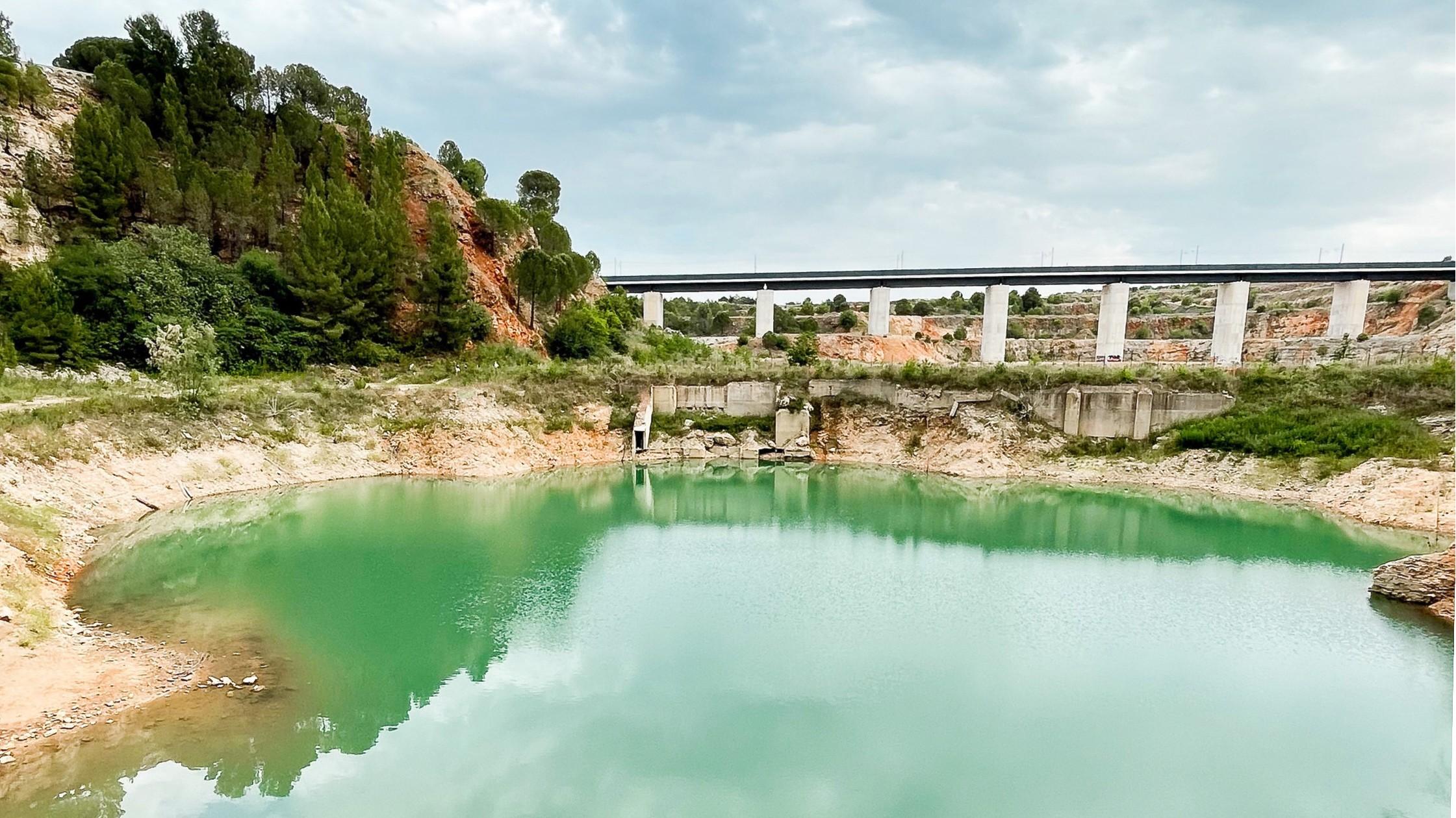 Laghetto di Modugno, ubicato in provincia di Bari (Puglia)